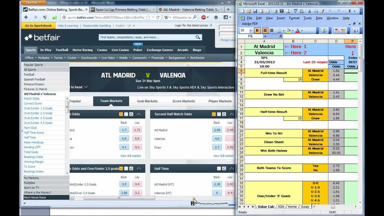 Value Bet Finder