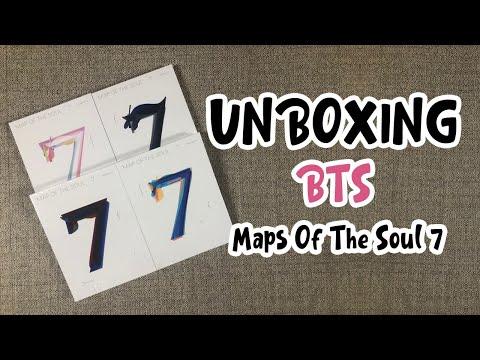 방탄소년단 Map Of The Soul 7 앨범 개봉 후기