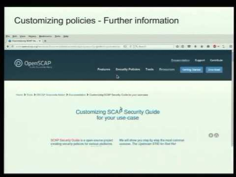 SCAP Security Guide | OpenSCAP portal
