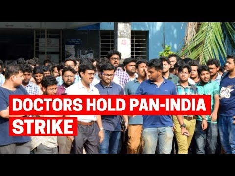 Doctors hold pan-India strike to support striking colleagues in West Bengal