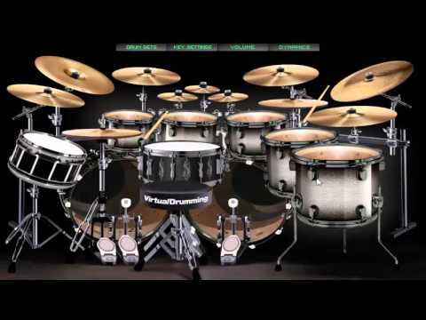 Avenged sevenfold The Wicked End drum cover virtual drummer