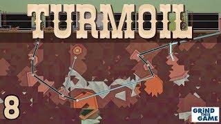 TURMOIL #8 - Oil Drilling Game - WHERE IS THAT GAS? FIRST DIAMOND! - Plains Biome