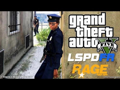 GTA 5 - LSPDFR - EPiSODE 84 - LET'S BE COPS - FEMALE PATROL (GTA 5 PC POLICE MODS) 2012 FORD TAURUS