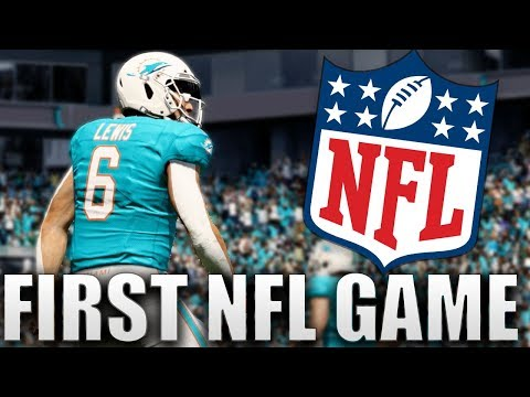 MY FIRST NFL GAME! NEXT CAM NEWTON!? Madden 20 Face Of The Franchise Ep.4