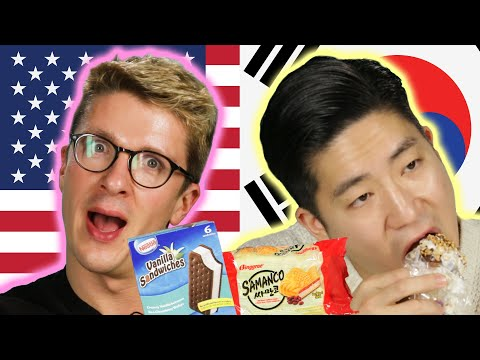 Americans & Koreans Swap Ice Cream