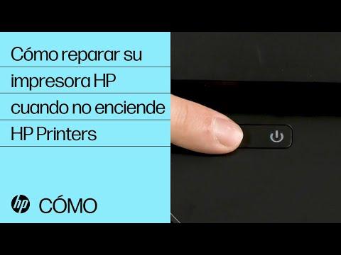 Cómo reparar su impresora HP cuando no enciende | HP Printers | HP