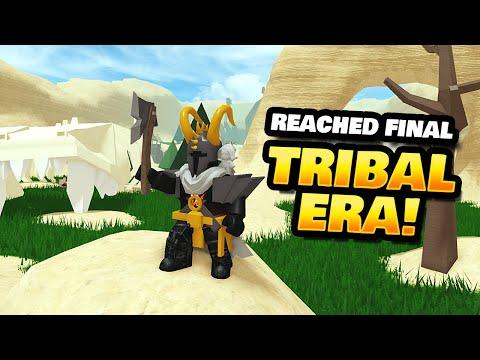 Reached The Final Tribal Era In War Simulator!