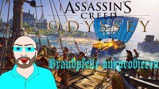 Assassins Creed Odyssey PS4 #9 - Brandpfeile ausprobieren