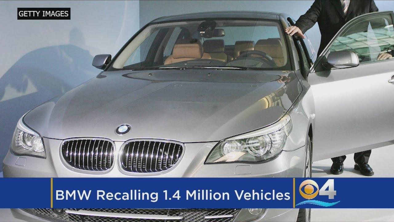 BMW recalls a million vehicles