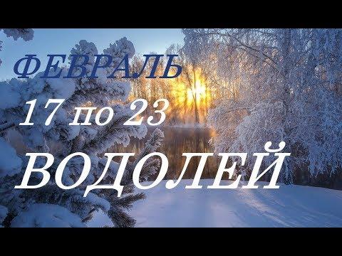 ВОДОЛЕЙ. ПРОГНОЗ на НЕДЕЛЮ. с 17 по 23 ФЕВРАЛЯ. 2020 год.