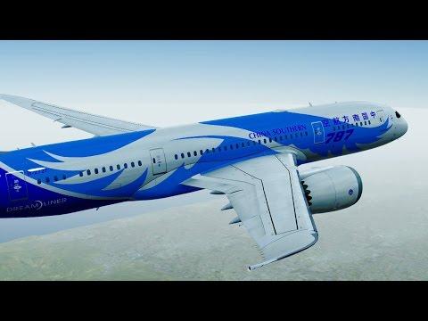 Infinite Flight Boeing B787 - 8 China Southern livery KSFO - KSCK