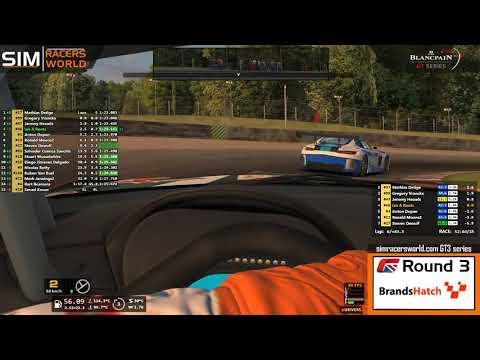 Simracersworld.com GT3 Series Round 3 Brands Hatch