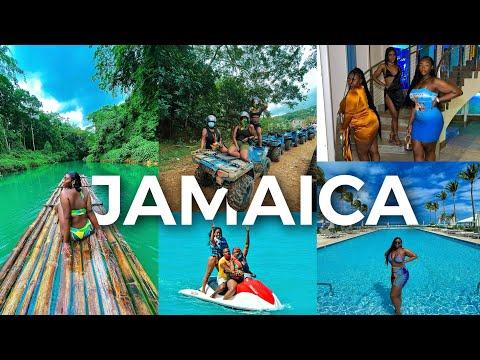 JAMAICA VLOG - ULTIMATE 2021 GIRLS TRIP!   TRAVEL VLOG   AMINACOCOA