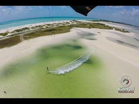 KITEBOARDING PARADISE Isla Blanca Mexico