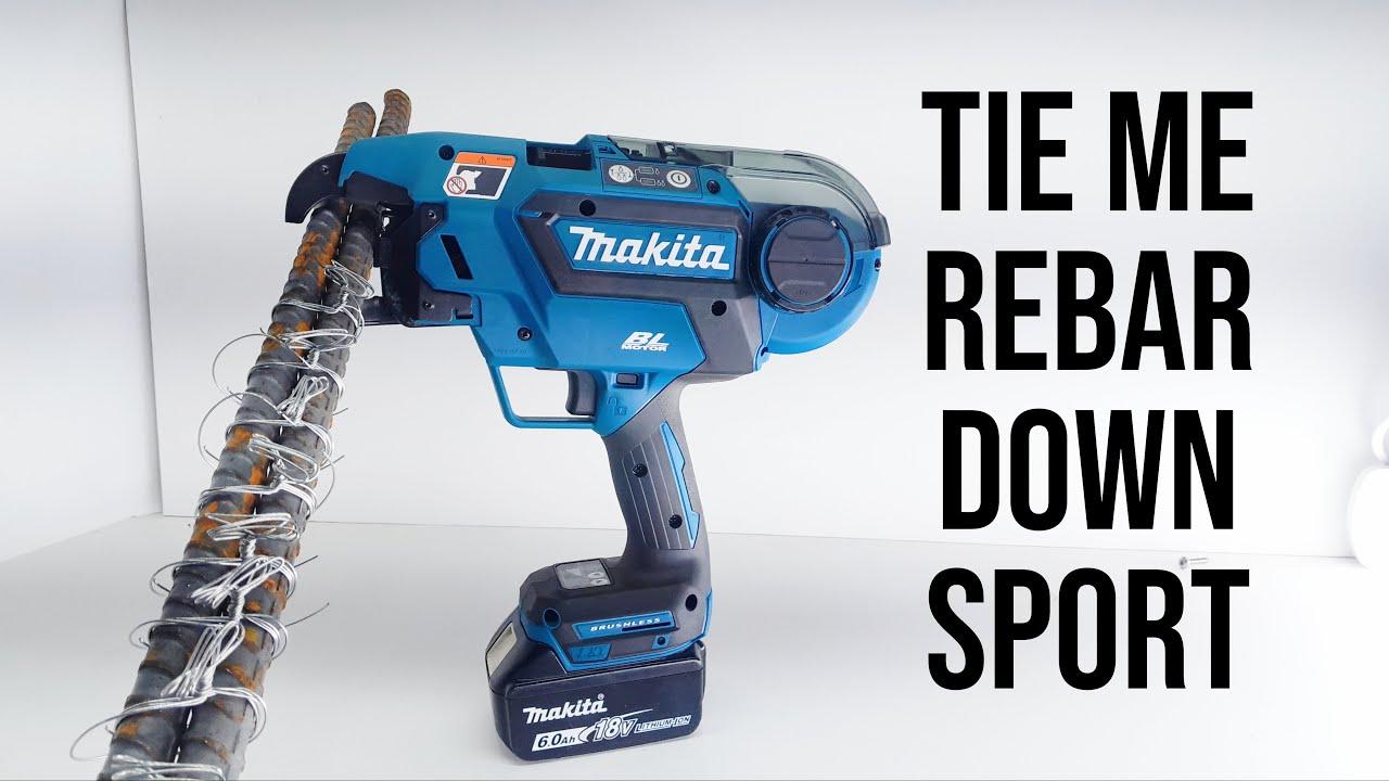 18v Makita Rebar Tying Tool Review     Quick and Pain Free Rebar tying