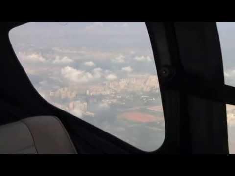 Flight over Singapore