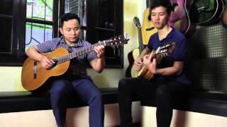 Bản tình ca mùa đông - Guitar clasic Văn Anh & Văn Sáng Bk