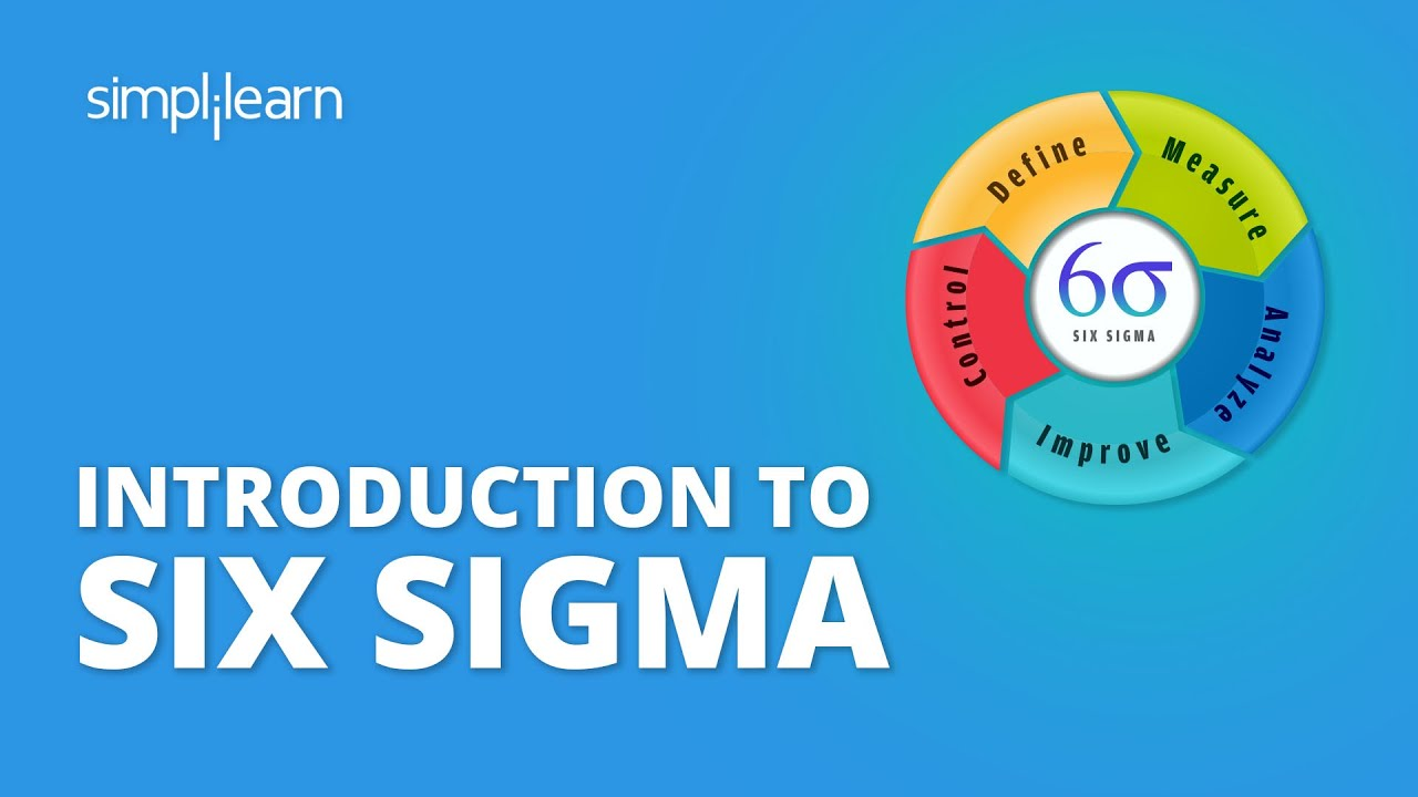 Introduction To Six Sigma   What Is Six Sigma   Introduction To Six Sigma  Methodology   Simplilearn