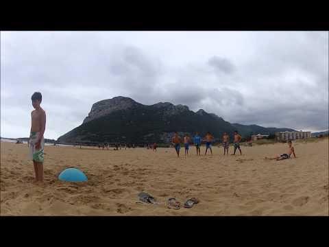 Jumping In Oriñon Beach