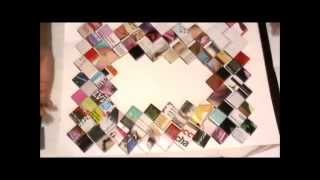 DIY:Picture Frames | Recycle Your Shoebox