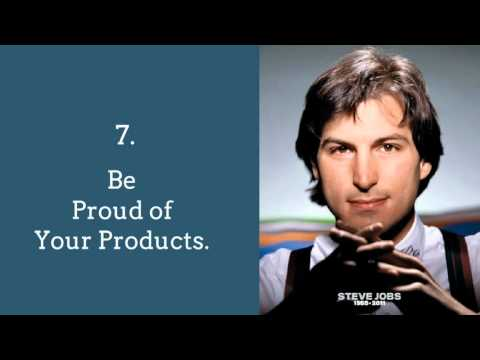 Steve Job's Top 10 Rules For Success