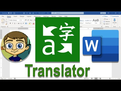 Using Microsoft Translator in Microsoft Word