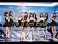 K-VILLE'S [TOP 10] GIRLS' GENERATION SONGS! [K-Pop Top 10's]