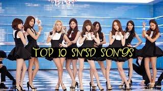 K-ville's [top 10] girls' generation songs! [k-pop top 10's]