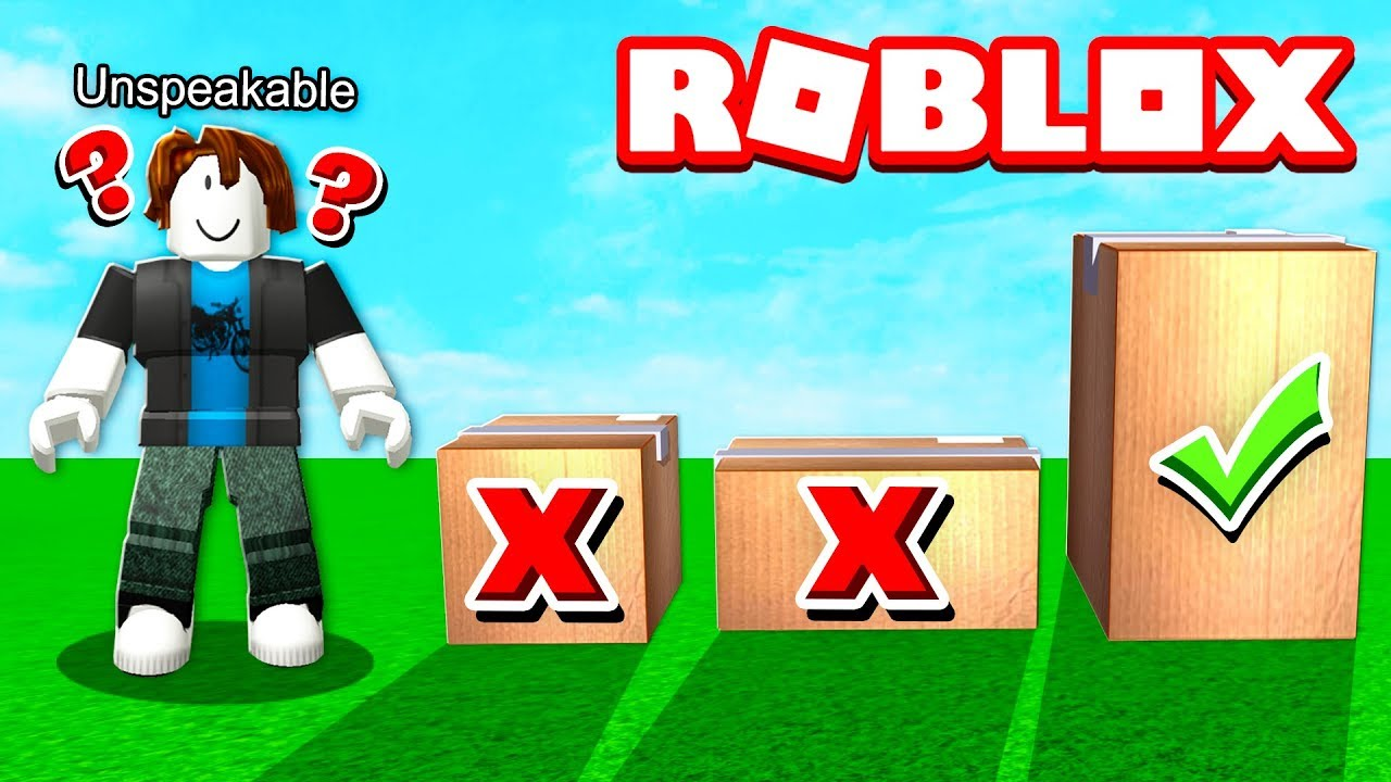 Roblox Moose Tits Youtube Don T Open The Wrong Box In Roblox Youtube