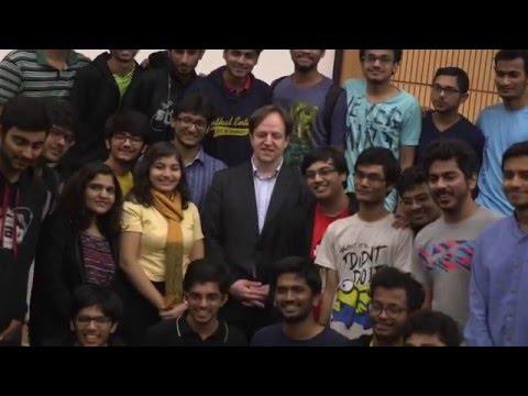 Li-Fi founder speaks to Bombay students