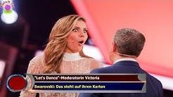 """""""Let's Dance""""-Moderatorin Victoria  Swarovski: Das steht auf ihren Karten"""