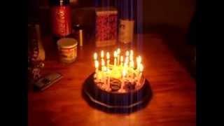 Happy birthday -  Joyeux anniversaire