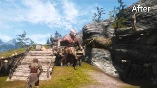 [VG] Skyrim - Mod - Bowlegged Jump Animation Fix Thumbnail