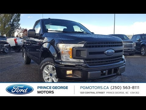 Black 2018 Ford F-150 XL Review Prince George BC - Prince George Motors