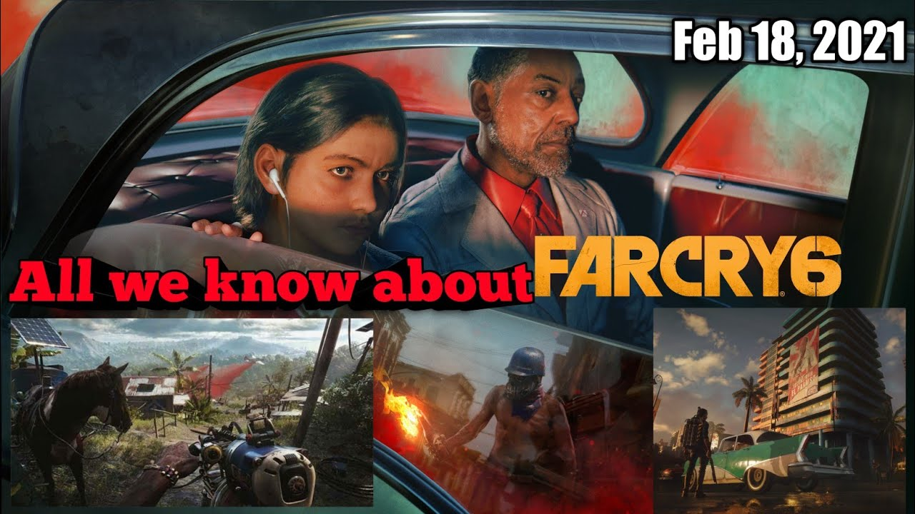 Far Cry 6 Details Info Gameplay Trailer Youtube