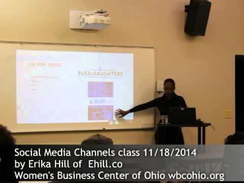 Erika Hill Social Media Channels