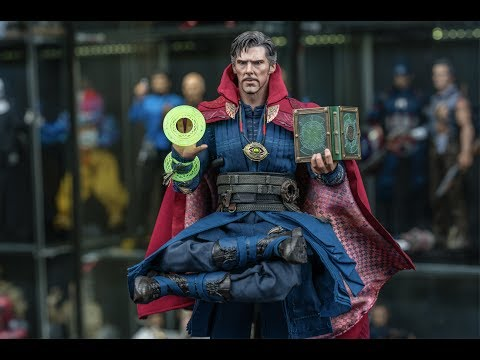 Hot Toys Dr. Strange 1/6 Scale Figure Review (4K)