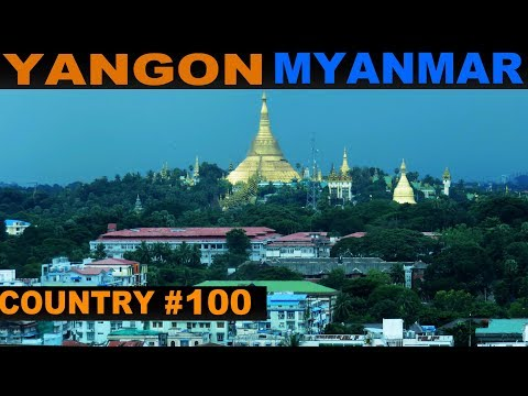 A Tourist's Guide to Yangon, Myanmar
