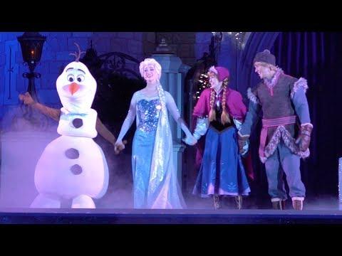 """A Frozen Holiday Wish"" 2018 at Walt Disney World's Magic Kingdom"