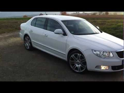 Skoda Superb 2.0 TDi DSG walk around