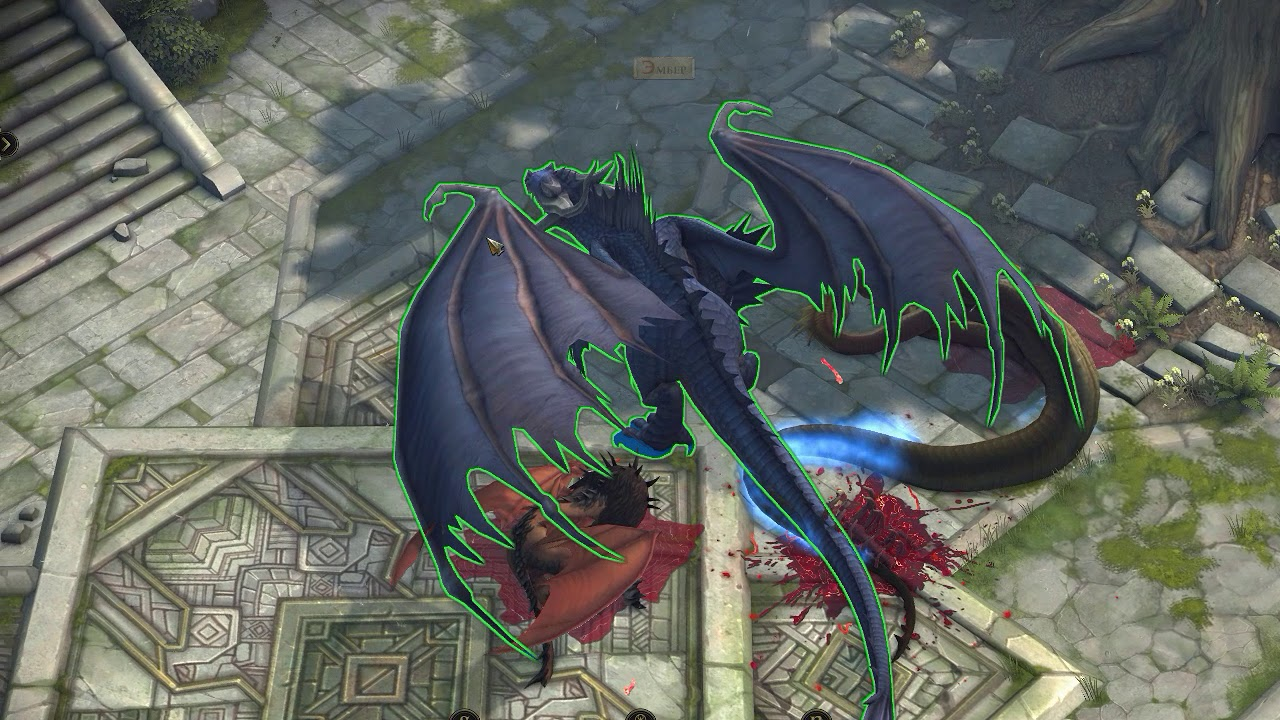 Dragon Form Attack
