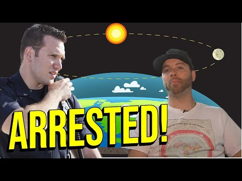 Flat Earther Gets Arrested thumbnail