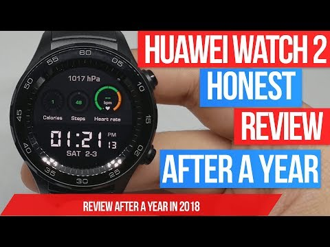 Huawei Watch 2 Review in 2018 after a year - Still worth it? (HW 2 review)