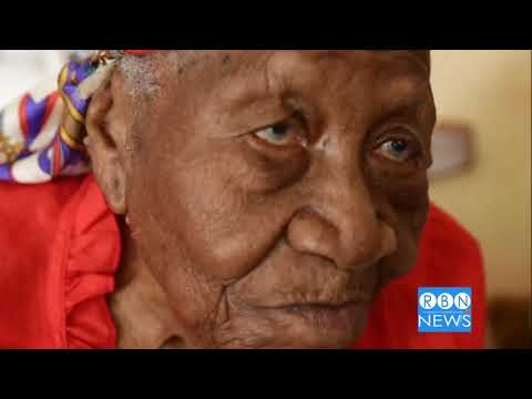 VIOLET MOSS-BROWN , Jamaican  & World's  Oldest Person Died at 117 y-o on Sept 15, 2017