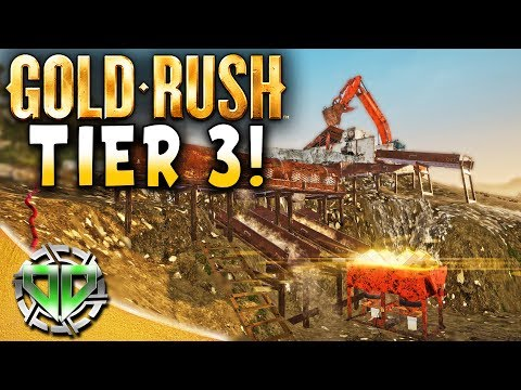 Gold Rush the Game : Tier 3 Mining Operation! (PC Lets Play)