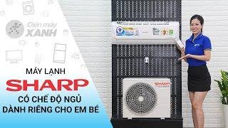 Máy lạnh Sharp Inverter 1 HP: hàng nhập Thái Lan giá tốt nhất (AH-X9VEW)   Điện máy XANH