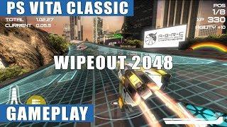 Wipeout 2048 PS Vita Gameplay   PS Vita Classic