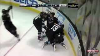 San Jose Sharks playoff OT goals