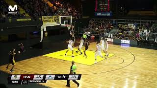 Highlights - Obras Basket 73-58 Peñarol (29/4/2019)