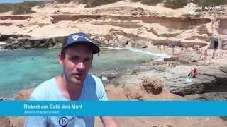 Urlaub am Strand Caló des Mort auf Formentera